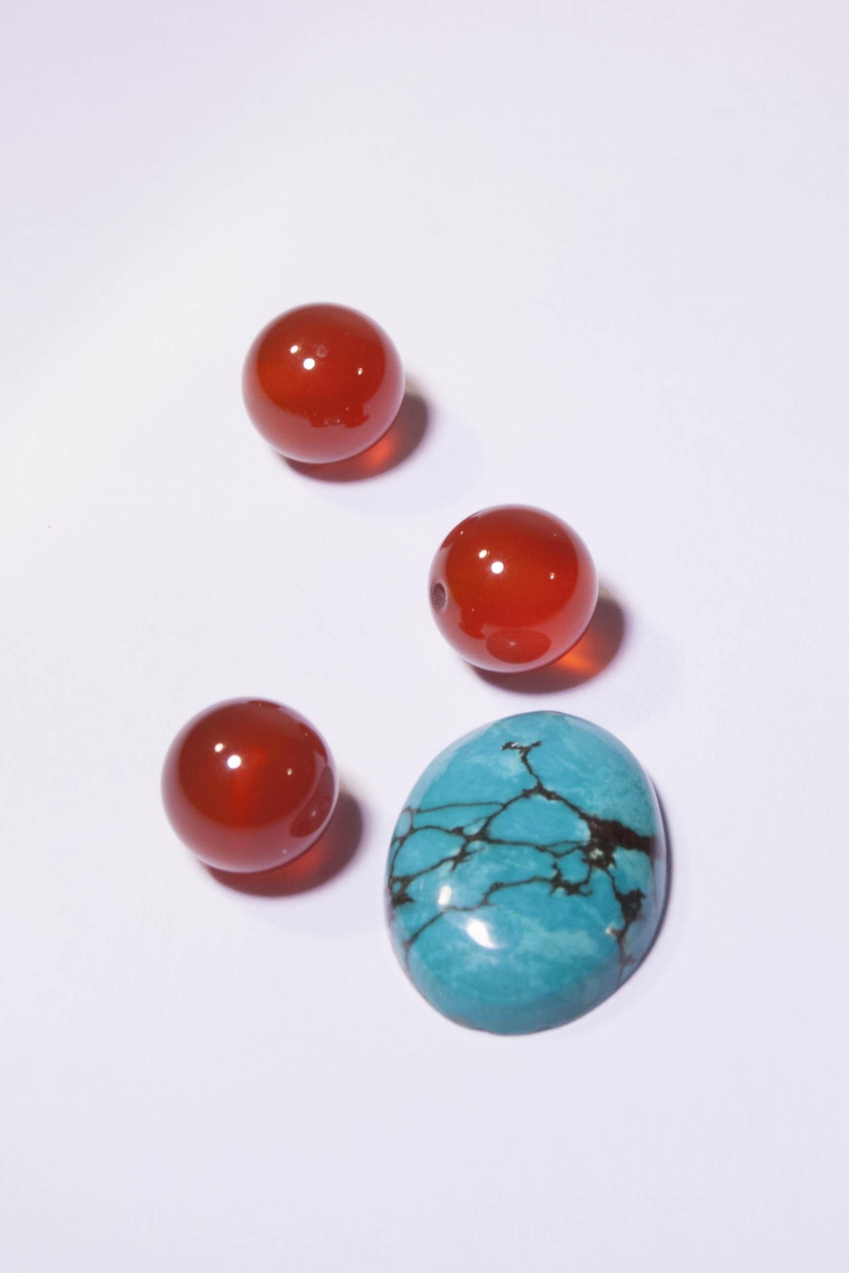 Agates et Turquoise