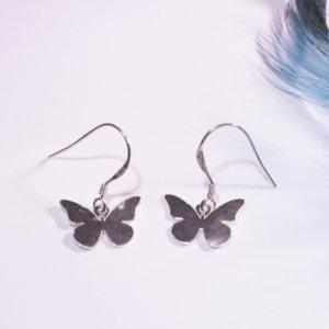 Boucles d'Oreilles Animini Papillon