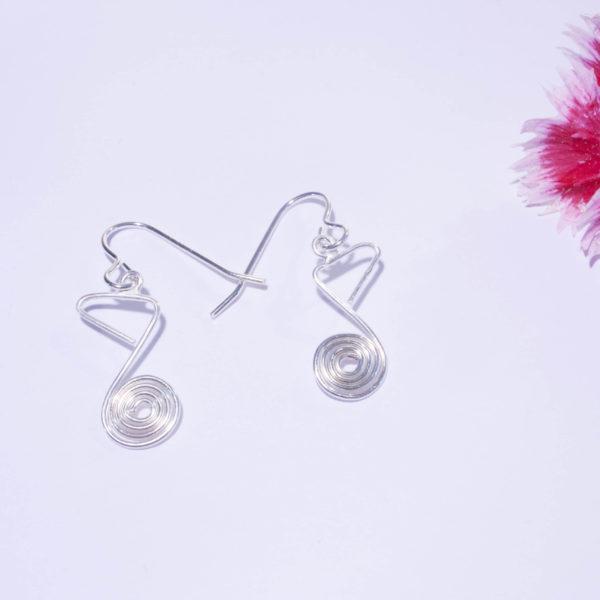 Boucles d'Oreilles Mélodie - Croche