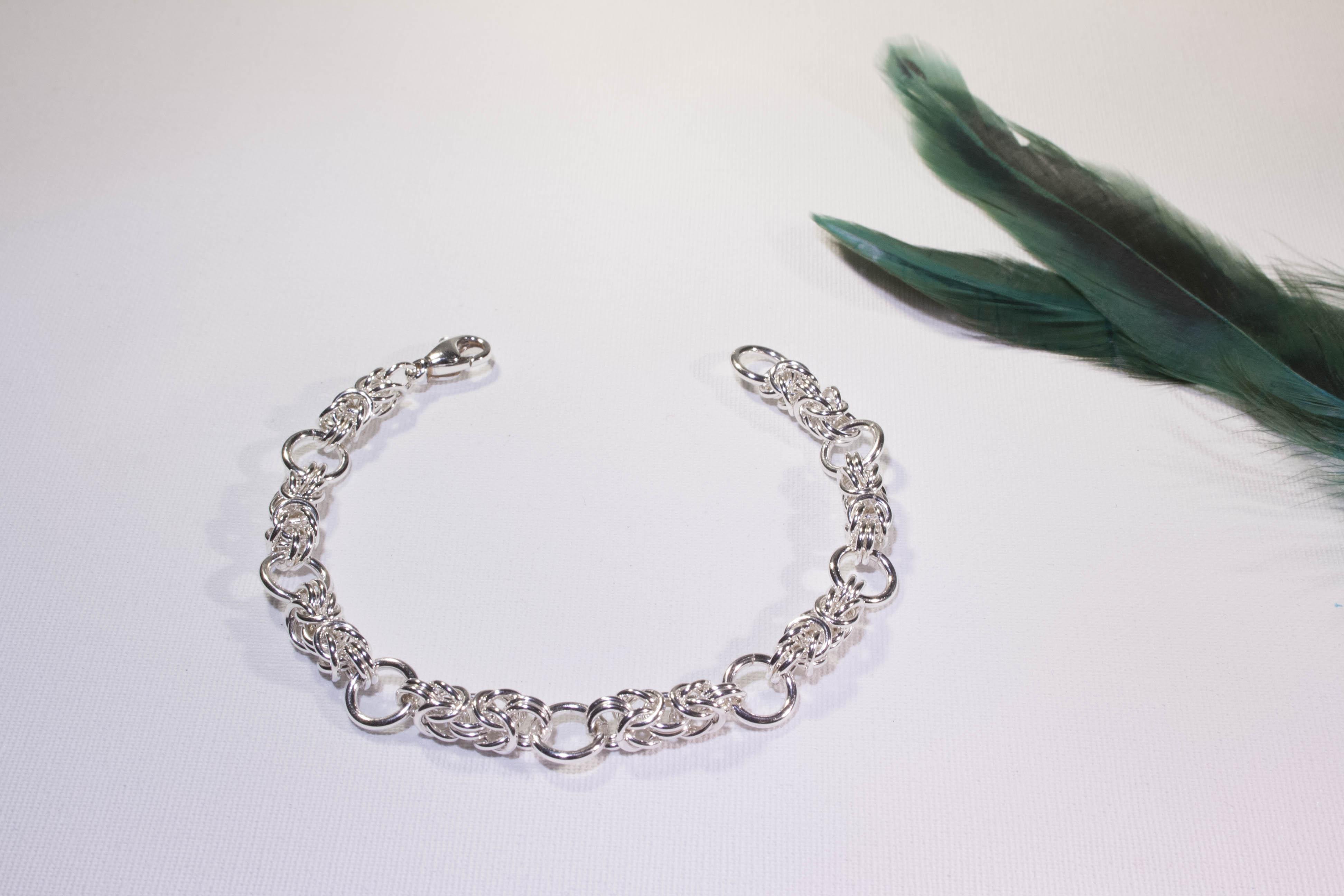 Bracelet marin de fil et d 39 argent - Nettoyer chaine en argent ...